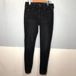 American Eagle High Rise Jegging Dark wash Size 4